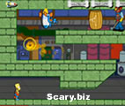 Bart Simpson Zombie Kaboom Icon